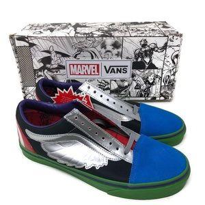 Vans X Marvel Old Skool Avengers Multi Mens 10